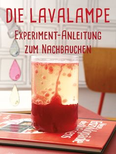 Build the lava lamp yourself: instructions for making up - Beschäftigung Kinder - diyhome
