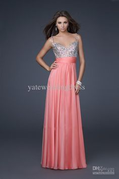 Wholesale 2012 Princess Spaghetti strap A-line Beaded Sequin Chiffon party/prom/cocktail dresses, Free shipping, $88.02-104.31/Piece | DHgate