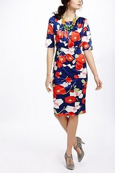 Anthropologie Ruby Belle Margo Pencil Dress (Pretty, fun, sophisticated, expensive, modest.  The last two always seem to go together!)