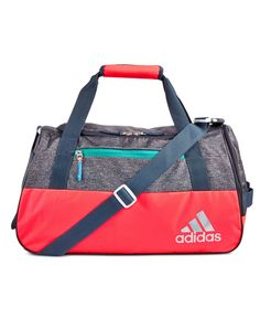 eb148e1ea07b adidas elevates the gym bag to stylish with the fresh design of the Squad  Iii duffel