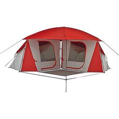 Ozark Trail 8-Person Dome Tunnel Tent with Maximum Weather Protection Orange | Tunnel tent Ozark trail and Tents  sc 1 st  Pinterest & Ozark Trail 8-Person Dome Tunnel Tent with Maximum Weather ...