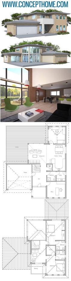 Architecture House India 22 Free House Plans Pdf More images and FREE floor plan PDF available Free Floor Plans, Modern House Floor Plans, Free House Plans, Sims House Plans, Open Concept Home, Farmhouse Plans, House Layouts, Architecture Details, Architecture Wallpaper