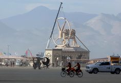 Burning Man Gets Going in Black Rock: Pictures