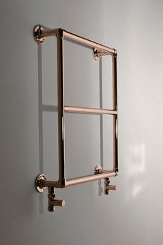 Copper Heated Towel Rail | Livinghouse