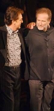 Paul McCartney and Robin Williams