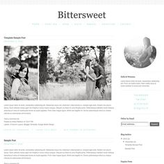 Blogger Template  Blog Design Simple by NudgeMediaDesign on Etsy, $35.00