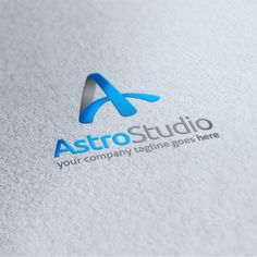 Astro Studio Letter A Logo by Slim Studio on Creative Market Badge Template, Logo Design Template, Logo Templates, Music Festival Logos, Construction Logo, Text Fonts, Logo Design Inspiration, Design Ideas, Letter Logo