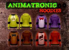 FNAF hoodies....I want the Foxy one