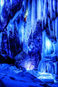 Eidfjord - Amazing ice climbing in Norway.