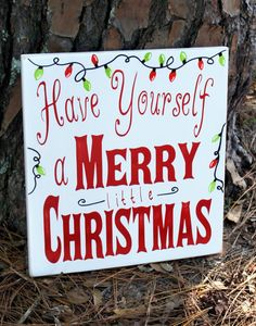Christmas Wood Sign - Have a Merry Christmas Wood Sign - Distressed Christmas Sign, Rustic Christmas Sign, Merry Christmas Sign, Christmas by RusticRedbird on Etsy https://www.etsy.com/listing/256021591/christmas-wood-sign-have-a-merry