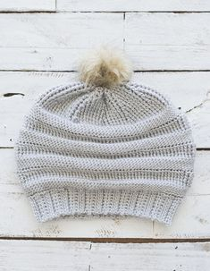 PDF Crochet Pattern for the Crocheted CC Beanie Copycat Hat
