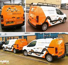Fleet of new Citroen Berlingo vans, wrapped in 3M 1080 Bur… | Flickr
