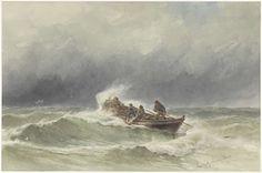 jonkheer Jacob Eduard van Heemskerck van Beest | Redding op zee, jonkheer Jacob Eduard van Heemskerck van Beest, 1838 - 1894 |