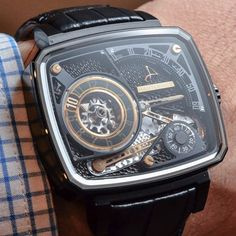 hautlence, HL Black ceramic limited edition of 88 pieces.