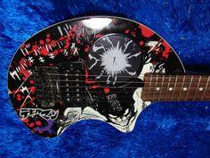 Fernandes ZO-3 Devilman travel guitar!