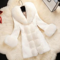 Women s Winter Coat Fur Coat – DivaMona Men s Coats And Jackets 25224efac