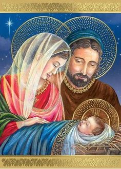 The Holy Family Christmas Cards