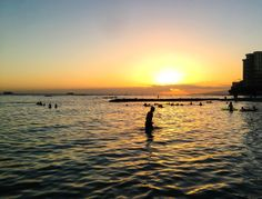 Nothing better like a #Waikiki sunset. #Hawaii #gohawaii #MyHometownPins