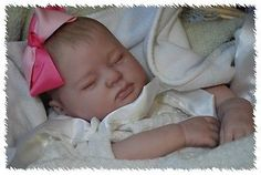 Vinyl REBORN ooak doll life like art ARTIST  fake newborn Baby Girl             $299.99