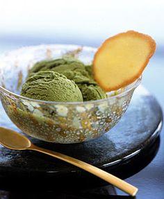 Green Tea Ice Cream / Sang An