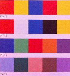 природные цветовые сочетания ультрамрин - Поиск в Google