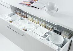 Como organizar gavetas na cozinha - Mais Tok&Stok