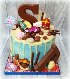 Drip Cakes, Cookie Desserts, Holiday Cookies, Party Snacks, Holiday Recipes, Cupcake Cakes, Cake Decorating, Birthdays, Birthday Cake