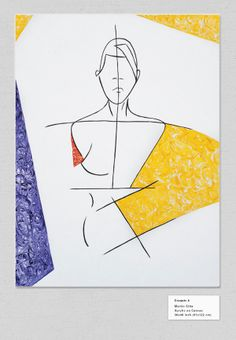 Fashion Paintings by Martin Sitta, via Behance