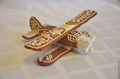 Новый год 2013 ручной работы. Ярмарка Мастеров - ручная работа Пряничный самолёт Ан-2. Handmade.