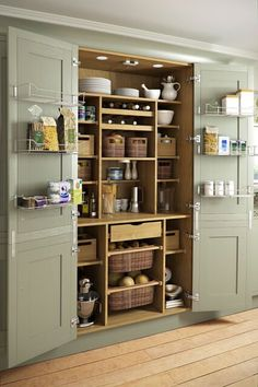 35 Kitchen Storage Solutions That Will Kick Your Kitchen Up a Notch & 53 Mind-blowing kitchen pantry design ideas | Storage and ...