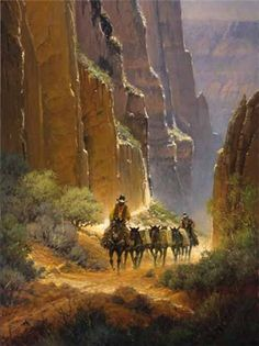 Canyon Trails by G. Harvey by G. Harvey