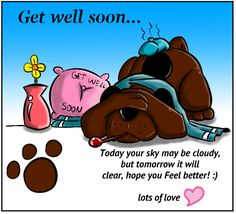 Crack some light humor with your sick pal & wish him a speedy recovery with this #ecard. #getwellsoon