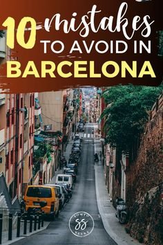 Planning to travel to Barcelona, Spain? Check out these 10 common tourist mistakes to avoid, from paying for basic tapas to visiting La Sagrada Familia without a ticket. These travel tips will save you time, money, and headaches. Barcelona Travel Guide, Spain Travel Guide, Barcelona Tourist, Europe Destinations, Europe Travel Tips, Travel Guides, Travel Articles, Travel Advice, Culture Travel