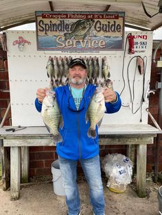 Roy caught his 2 personal best crappie on his trip. Fishing Trips, Crappie Fishing, Lake Texoma