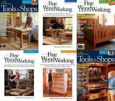 Подшивка журнала - Fine Woodworking №258-265 (January-December 2017) PDF. Архив 2017