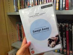 "Winter is arrived and Christmas is already on his way. So, start a journey in a hot island in the middle of the Mediterranean sea, with our #DVDofTheWeek ""Swept Away"" by the Italian director Lina Wertmuller.    You can find this DVD in #London also at The Italian Bookshop, the only place with the largest collection of Italian DVD with English subtitles. (Do you like Italian Cinema? Support our ""Italian Docs Online"":#IDO14)"