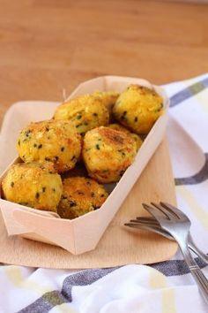 Boulettes de haricots blancs au curry (vegan)