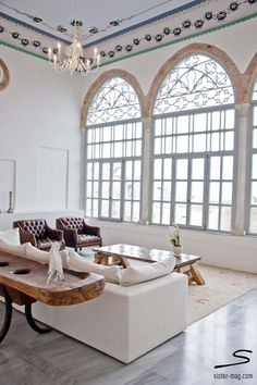 Salon at The Efendi Hotel in #Acres, #Israel. Explore more hotel recommendations in #sisterMAG8. Photo: Sivan Askayo