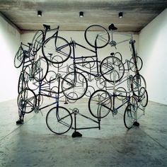 Bike installation, Ai Weiwei