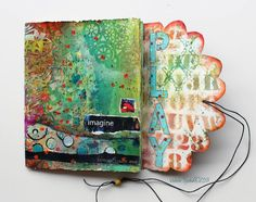 Stencil Play Journal by Valerie Sjodin, visual blessings
