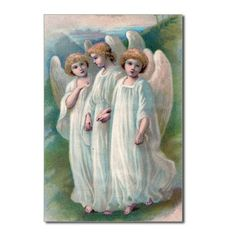 3angel girls Postcards (Package of 8)