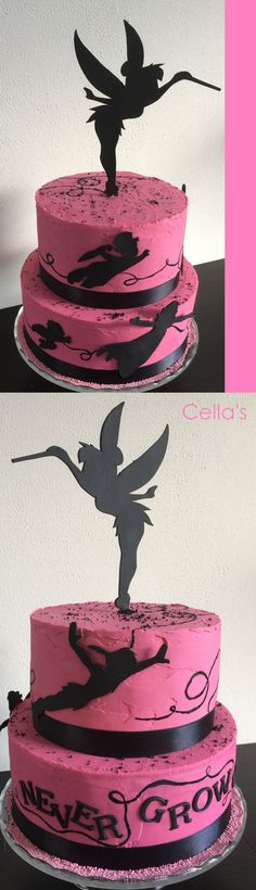 Tinkerbell taart.. Tinkerbell, Cupcakes, Desserts, Food, Postres, Cupcake, Deserts, Cup Cakes, Hoods