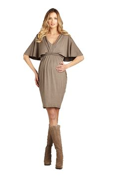 [Código: PRE0009] Vestido premamá con mangas laterales