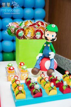 Super Mario Bros. Themed Birthday Party