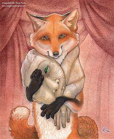 Faux Fur by mirroreyesserval. on - Vegan Memes - Vegan Vegan Memes, Vegan Humor, Deviantart, Satirical Illustrations, Vegan Animals, A Level Art, Animal Tattoos, Animal Rights, Art Plastique