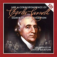 Picture of Life & Correspondence of Charles Carroll: Signer of the Declaration (CD ROM)