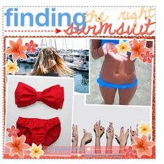 finding the right swimsuit//maggie