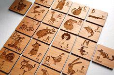 BULK Custom MAGNETS  Engraved Wood Tags / by digitalcraftpdx