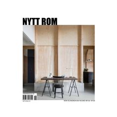 NYTT ROM, The REFILL issue, in stores now #nyttrom #magazine #architecture #interior #furniture #furnituredesign #graphicdesign #art #living #scandinavianliving