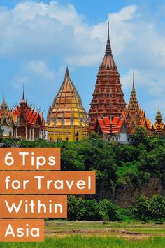 6 Tips for Travel Within Asia - #travel #Asia #traveltips #vacation #trip